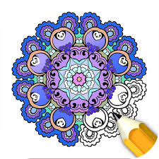 Adult Coloring Book Stress Relief Games