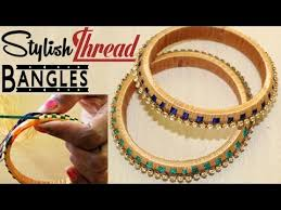How To Make Silk Thread Bangle Making At Home