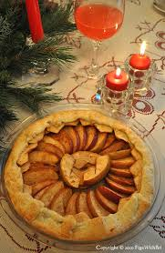 Rustic Apple Tart With Almond Paste And Sweet Sundowner Apples