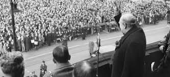 Winston Churchill Iron Curtain Speech Video by 100 Churchills Iron Curtain Speech Transcript Definition