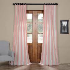 Kohls Triple Curtain Rods by Burma Faux Silk Taffeta Stripe Curtains Curtain Blog