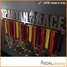 Spartan Race Medals Wall Rack Medal Display