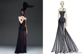 Wear The Drawings Of Famous Fashion Designers From