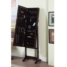 Amazon.com: Artiva USA - Espresso Wood Finish – Free Standing ... Amazoncom Organizedlife Black Mirrored Jewelry Cabinet Armoire Ipirations Mirror Standing Ideas Inspiring Stylish Storage Design With Big Lots Tips Walmart Oak Free Fniture Chest Dark Cherry Hives And Honey Cheval Decor Lovable Brown Wood Giantex Modern Espresso Hayneedle Baxton Studio Alena Fishing Amazing Box Home