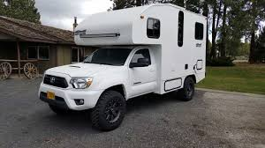 100 Tacoma Truck Camper Toyota Custom Is All The RV Youll Ever Need