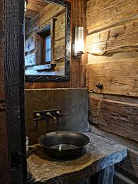 Rustic Bathroom Design With Well Ideas About Designs On New