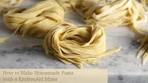 How to Make Homemade Pasta with KitchenAid Mixer Sober Julie