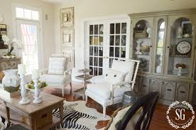 Hutch Living Room Styled Two Chairs Stonegableblog