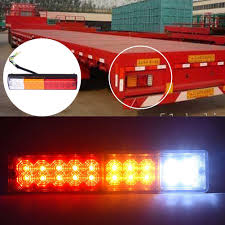 12V Waterproof 20leds Trailer Truck LED Tail Light Lamp Car ... Trucklite Class 8 Led Headlights Hidplanet The Official Bigt Side Marker V128x Tuning Mod Euro Truck Simulator 2 Mods 48 Tailgate Side Bed Light Strip Bar 3 Colors 90 Leds 06 Chevy Silverado 9906 Gmc Sierra 3rd Brake Red Halo Headlight Accent Lights Black Circuit Board Angel Lighting Rigid Industries Solutions Best Cree Reviews For Offroad Rugged F250 Lifted With Underbody Caridcom Gallery Rampage Strips Diy Howto Youtube 216 And 468 Lumens Stopalert 10 30v 2w 3500 4500k Universal High