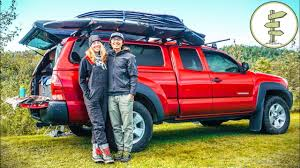 100 Tacoma Truck Camper Extreme Minimalists Living FullTime In A Pickup YouTube