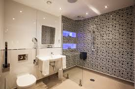 Sonos Ceiling Speakers Bathroom by The Straker Chalet Main Bathroom Walk In Shower Programmable