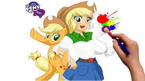 Equestria Girls MLP Applejack