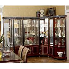yb10 luxus barock klassische wohnzimmer vitrine europäischen antiken mahagoni holz ecke wein vitrine schaufenster buy antiken mahagoni ecke