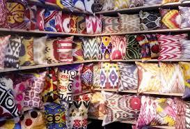 coussin de luxe pour canapé le patchwork en textile d ameublement