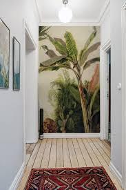 der tropische und exotische bananenbaum ist teil der
