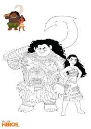 Coloriage Vaiana A Imprimer In Princesse Disney Vaiana Frais