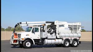 100 Sewer Truck 2000 Sterling Vactor 2110J6F Combo YouTube