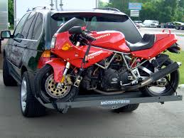Hitch-mounted Motorcycle Carriers - Ducati.ms - The Ultimate Ducati ... Motorcycle Dolly Aw Direct Pokemon Snorlax Bed And Pokmon Things To Consider When Adding A Lift Kit Your Truck Scott Law Firm 10 Do With Dropped Liz Jansen Redline 2200hd 2200 Lb Electric Hydraulic Bike Atv The Carrier And Store Motorcycle Loaders Rampage Power Trailer Review Q Loaderrampwinch Load Mc Onto Pickup Truck Bed Wheel Chock Stand Mount Floor Towing Hydralift Lifts Shipping Transport Moverquest Moving Company