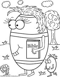 Church House Collection Free Egg Carrying Her Bible Coloring Page For School Toddler Story Pages Childrens