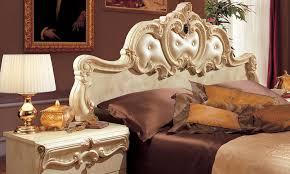 details zu schlafzimmer komplett set beige hochglanz italienische möbel stil barock klassik