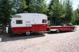 1962 Shasta Travel Trailer 1961 Ford Galaxie Sunliner