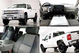 100 For Sale Truck Used 2013 Chevrolet Silverado 1500 LT 4X4 Summit White Extended Cab