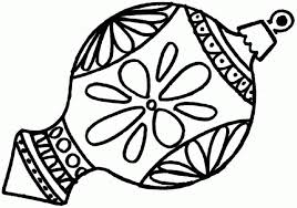Free Coloring Pages Christmas Ornaments