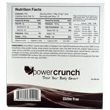BNRG Power Crunch Protein Energy Crisp Bar Chocolate Brownie
