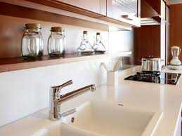 Install Domsjo Sink Next To Dishwasher by Countertops How To Polish Corian Countertops Delta Kitchen