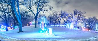 Hayrides at Holiday Fantasy in Lights