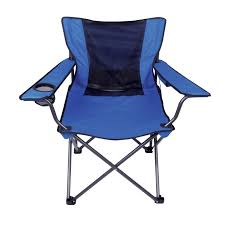 Portable Directors Chair by Traveling Breeze Fan Cooled Sport Chair Color Will Vary Red Or