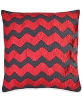 Red Decorative Pillows by Amazing Deal On Callisto Home Ikat Rectangle Throw Pillow In Grey