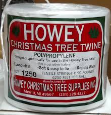 Christmas Tree Baler by Howey Baler Twine U2013 Goderie U0027s Tree Farm