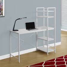 Crate And Barrel Leaning Desk White by 29 White Desk Bookcase White Desk High Bookcase A1 Office