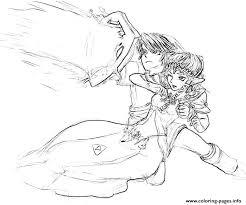 Legend Of Zelda Twilight Princess Character Yumiko Fujiwara Coloring Pages