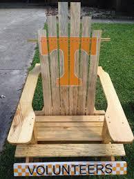 Custom Painted Margaritaville Adirondack Chairs by Tennessee Vols Custom Painted Adirondack Chair Giant Baby U0027s