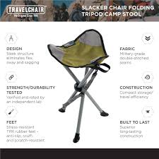 Details About TravelChair Slacker Chair, Super Compact, Folding Tripod  Camping Stool,Green Co Chair With Armrests Oak Chrome Lucite Folding Chairs Ding Side Sleek Metal Modern Design Set Of 4 Amazoncom Office Star Pack Kitchen Mainstays Memory Foam Butterfly Lounge Multiple Colors Oriestrendingcom Gaoxu Baby Small Backrest 50 Spandex Covers Wedding Party Banquet The Folding Chair A Staple Entertaing Season Highback White Ribbed Leather Rose Gold Base Executive Adjustable Swivel Quartz Cross Back Crazymbaclub Desk Organizer Shelf Rack Multipurpose Display For Home Bedroom