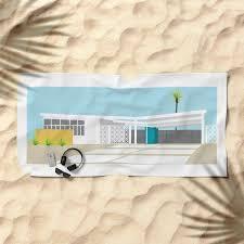 100 Mid Century Modern Beach House Midcentury Modern House Four Towel