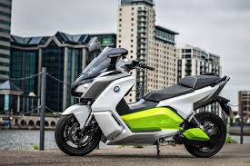 The New BMW C Evolution E Scooter VIDEO