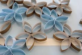2 idées récup pour décorer les murs rouleaux de papier toilette