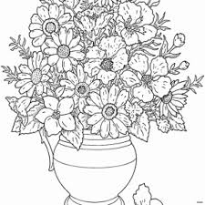 Free Colring Pages Unique Cool Vases Flower Vase Coloring Page Pages