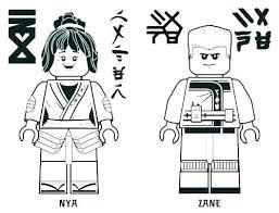 Advanced Golden Ninjago Coloring Pages S8366 Ninja For Adults