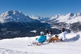 100 Muottas Muragl Toboggan Run Winter In Engadin St Moritz