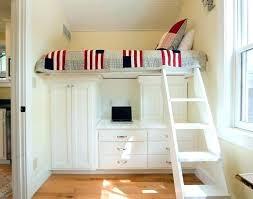 bureau pour mezzanine lit mezzanine avec armoire integree peaceful bureau lit mezzanine