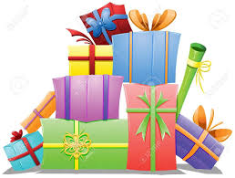 of birthday presents