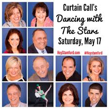 dancing with the stars stamford to support curtain call hey