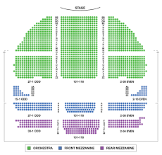 Gershwin Theatre Broadway Seating Charts