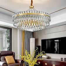 led hängeleuchte modern rundes design aus glas eisen für