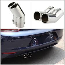 Car Tail Pipes Replacement Car Style Dual Pipe Stainless Steel ... Custom Dual Exhaust Project On 2013 St Corsa Dual Pipe Exhaust Tip Ford F150 Forum Community Of Fabricated Tips 5 Magnaflow 2011 Tahoe 12014 50l Solo Performance Machx System 998145 Another N52 Going Pictures Videos Mopar 5inch Tips Feature Wall Thickness Fit Snug For Porsche P9974000a050 P99 740 00a 050 Ready To Ship F250 F350 67l Dualexit Systems 2015 Gmc Denali 1500 62 Flowmaster True By Kinneys And 7 Page 2 Dodge Cummins Diesel Amazoncom Gibson 56 Aluminized Sport 35l Ecoboost Machx