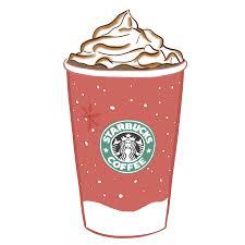 Drawn Starbucks Pink Tumblr 3